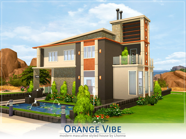 Orange Vibe by Lhonna