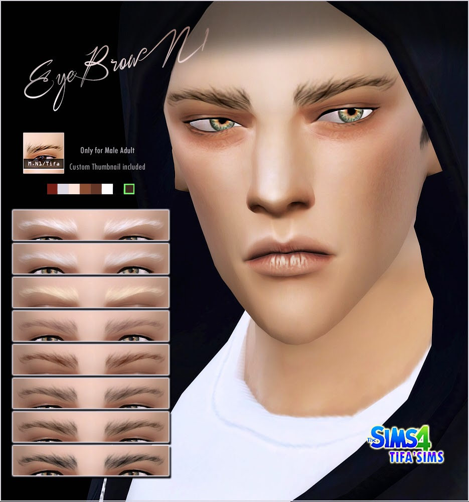 Eyebrows for Males by Tifa