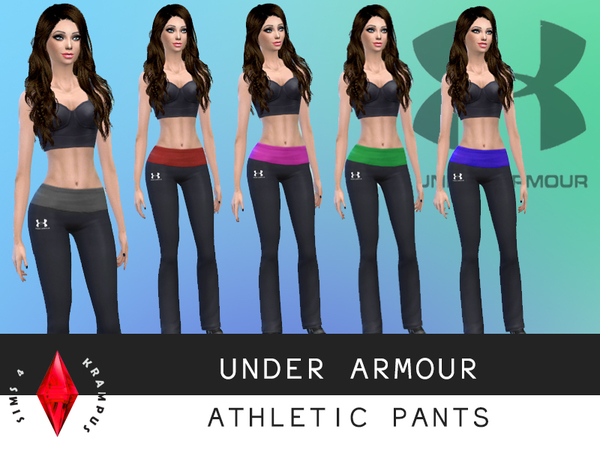 Under Armour Athletic Pants by SIms4Krampus