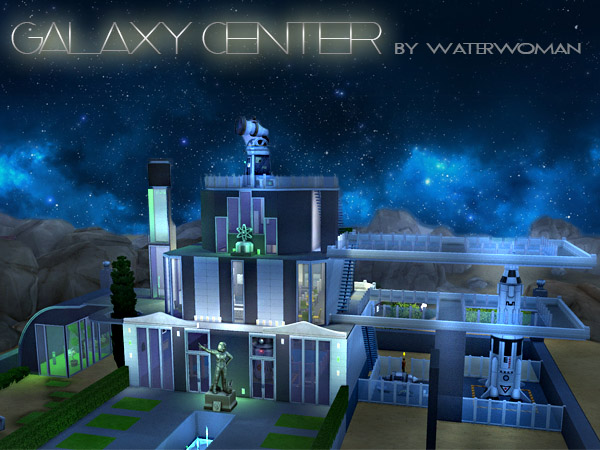 Galaxy Center by Waterwoman at Akisima