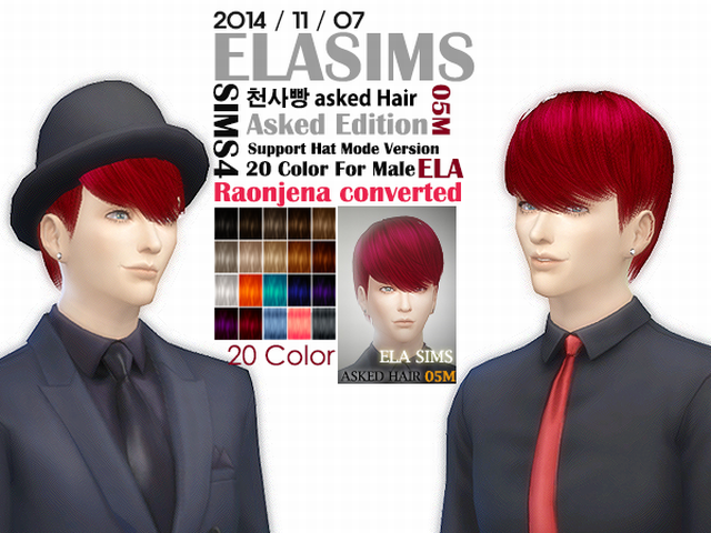 Raonjena hair Conversion 05M by Elasims