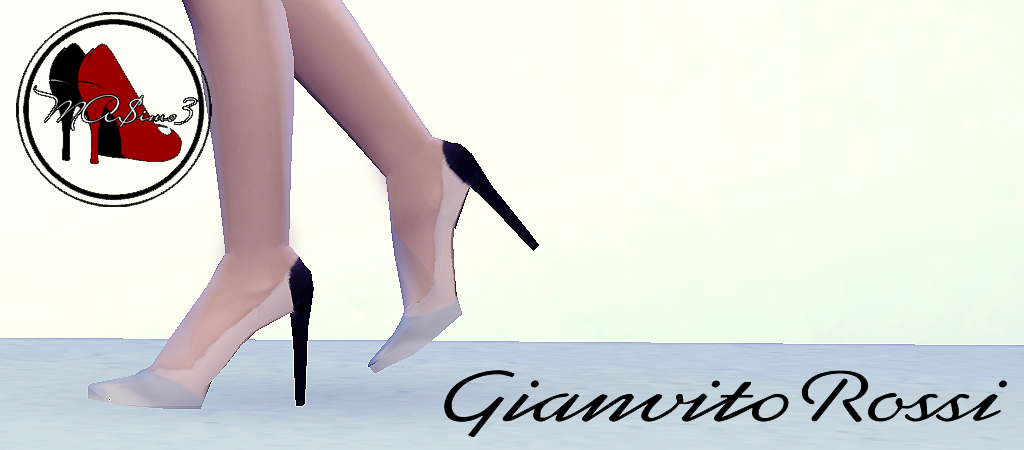 Gianvito Rossi Metallic Toe PVC Stiletto Shoes by MrAntonieddu