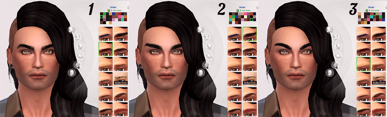 Eyebrows by EndlessLaziness