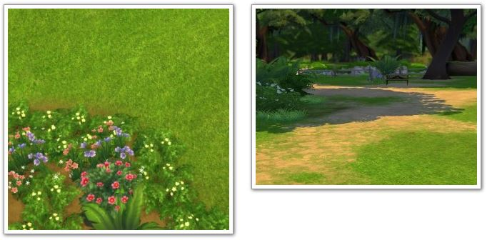 Default Grass Replacement by Kiwi Sims 4
