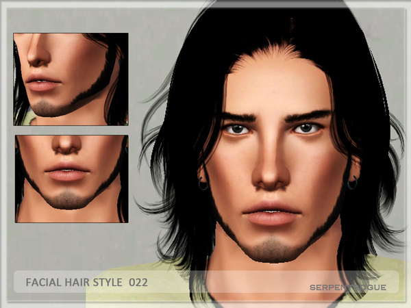 Facial Hair Style 022 by Serpentrogue