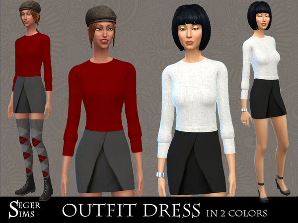 Outfit Dress by SegerSims