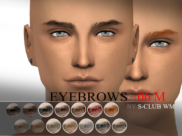 S-Club WM thesims4 Eyebrows06 M