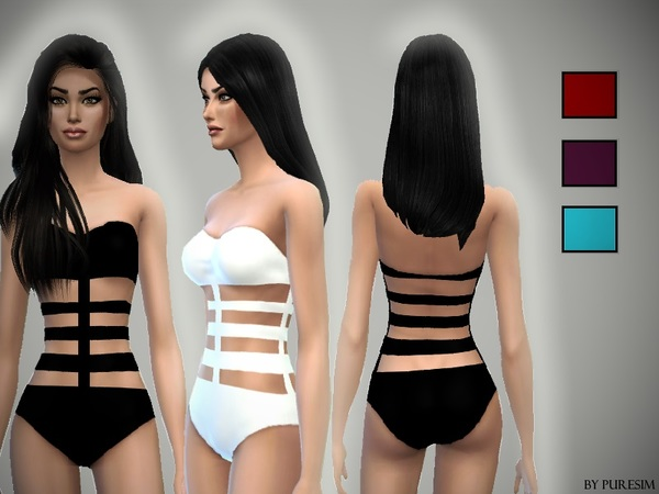 Bandage Swimsuit by Puresim