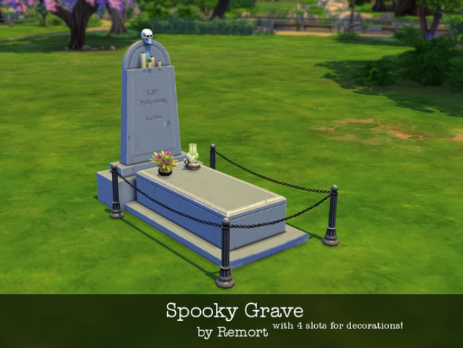 Spooky Grave by Remort
