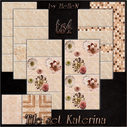 Katerina tile set by HelleN