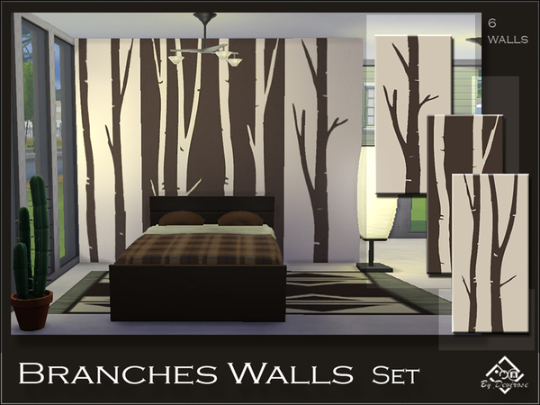Branches Walls Set by Devirose