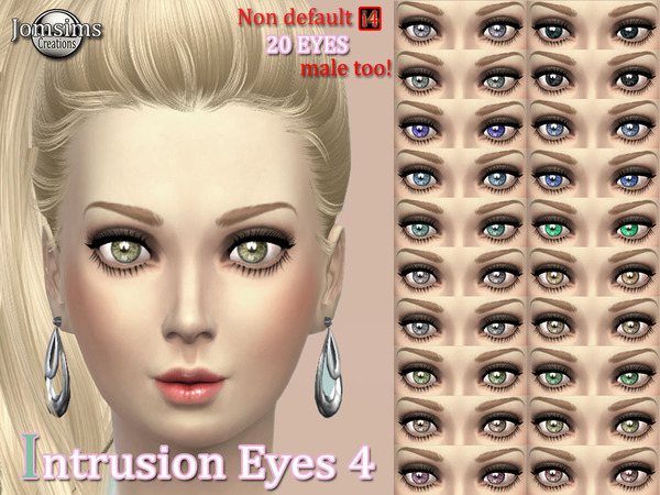 INTRUSION EYES 4 ( For men and women.) by jomsims