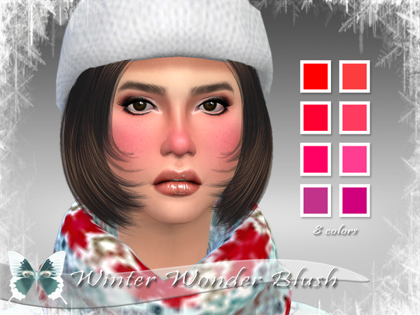 Winter Wonder Blush by Ms Blue