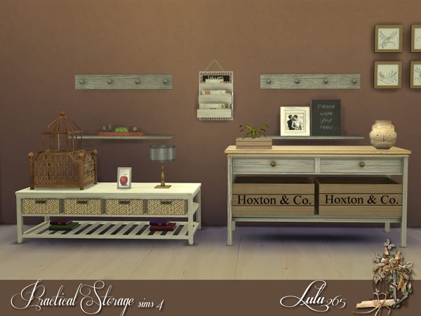 Practical Storage Sims 4 by Lulu265