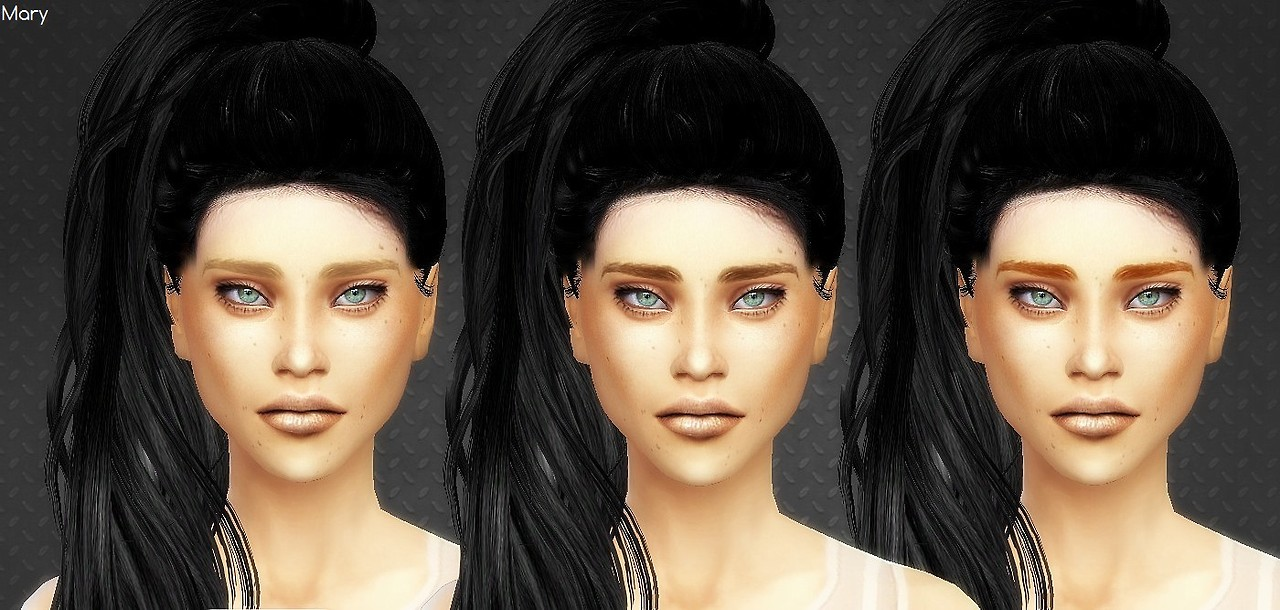 Mouseyblue Pow Brows TS2 to TS4 by Mrsmarysims