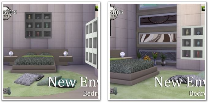NEW ENVY bedroom at Jomsims Creations