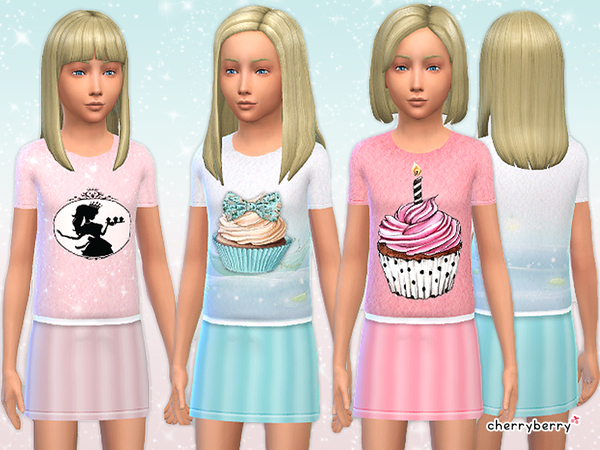 Candy dress by CherryBerrySim
