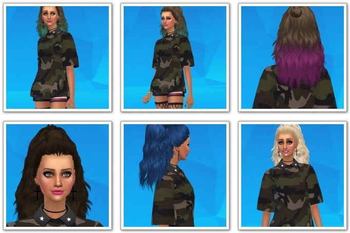Skysims 204 Hair Conversion at Nano Vieira