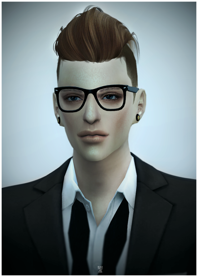 NewSea SIMS4 Hair MACHO by Black