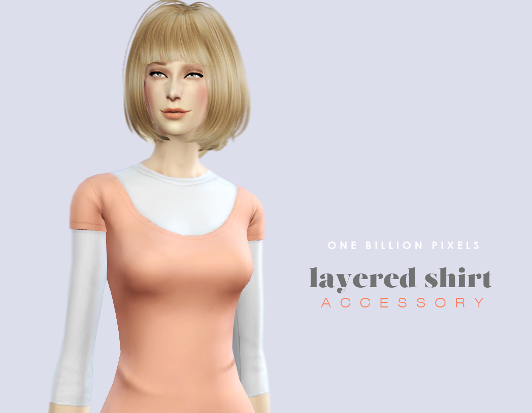 Accessory Layered Shirt at One Billion Pixels