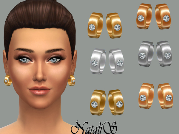 NataliS_Earrings with crystal FT-FE