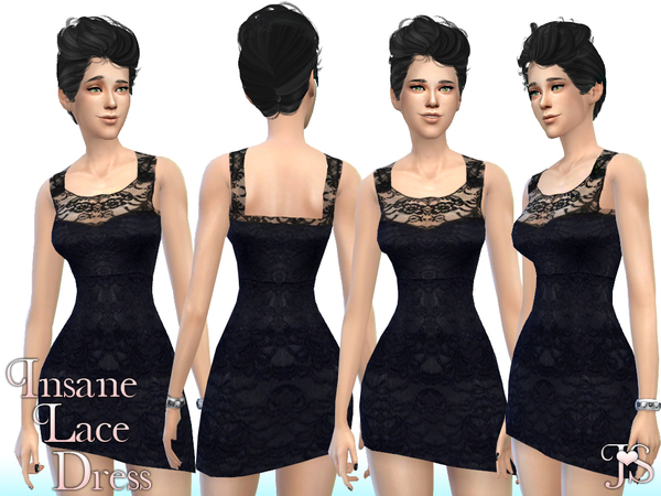 Insane Lace Dress by JavaSims