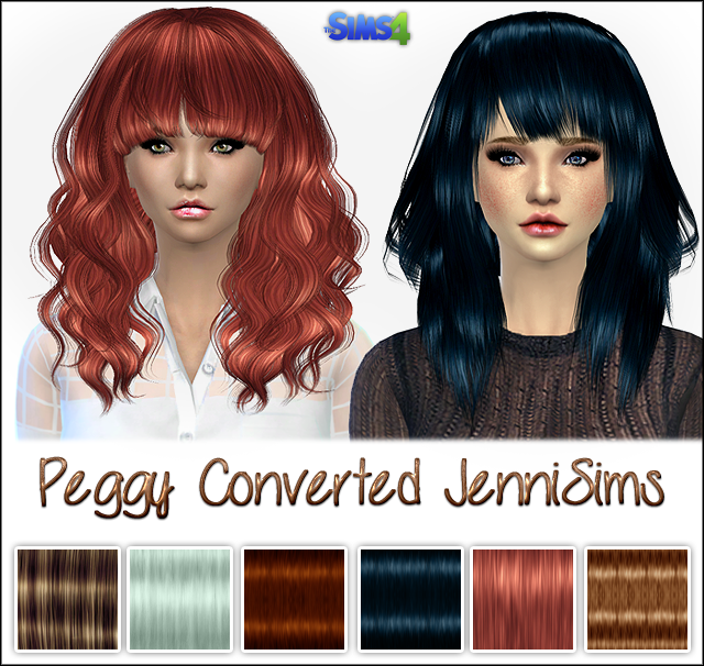 Peggy Hairs converted by jennisims