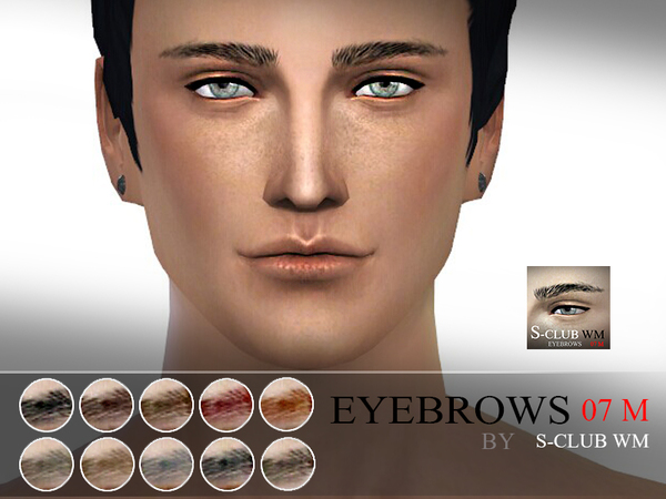 S-Club WM thesims4 Eyebrows07 M