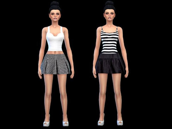 set off 2 sweet skirts new mesh by simsoertchen