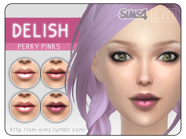 [ Delish ] - Perky Pinks Lip Colour by Screaming Mustard