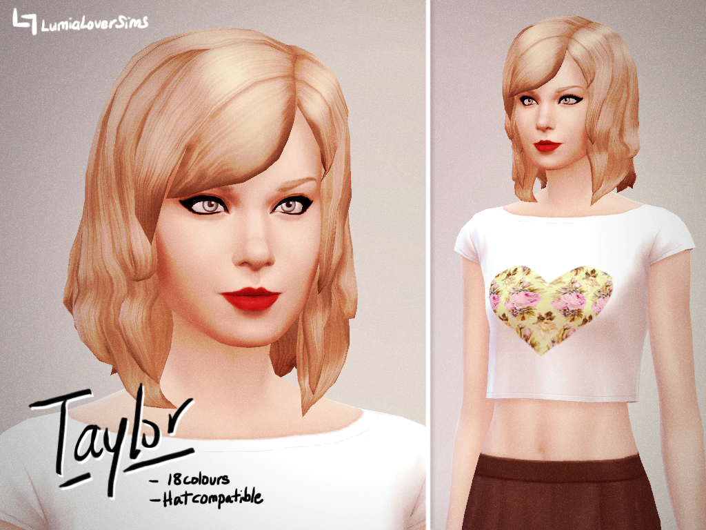 Taylor Hair for Females by LumiaLover