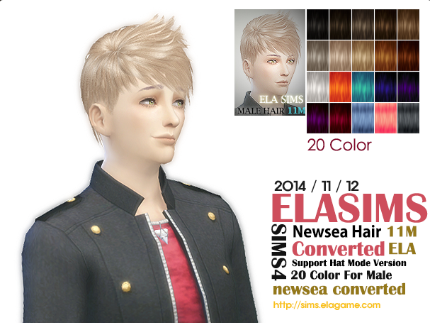 Newsea Hair Conversion 11М by Elasims