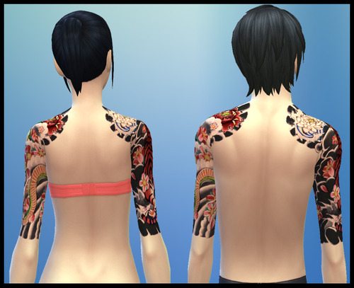 Japanese Sleeve Tattoo at Gefa Sims