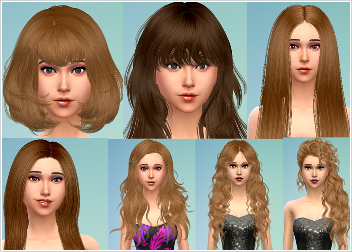 Female Hair Conversions by David