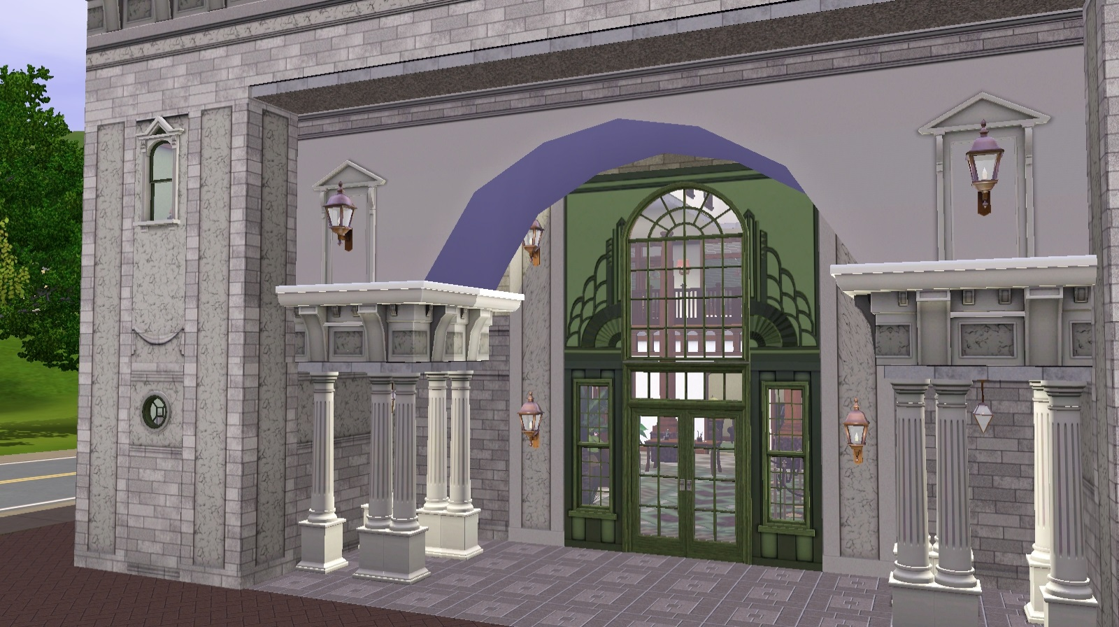 Sims National Bank by cutsocks