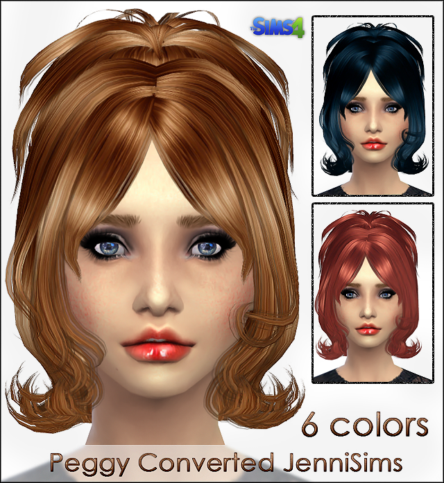 Peggy converted for the Sims 4 by jennisims