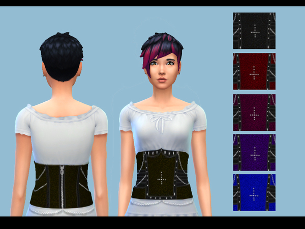 Underbust Corset Top by drea1219