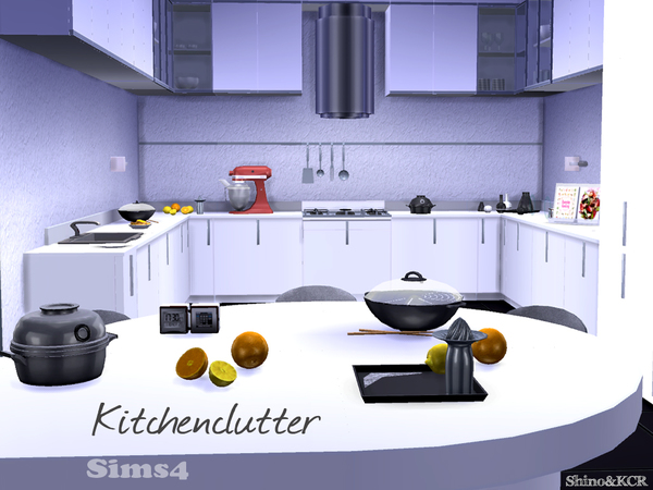 Kitchen Clutter by ShinoKCR