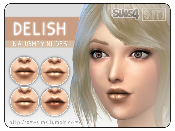 [ Delish ] - Naughty Nudes Lip Colour by Screaming Mustard