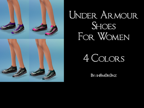 Under Armour Shoes For Women by ih8m0r0nz