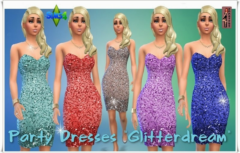 Glitterdream Party Dresses by Annett85