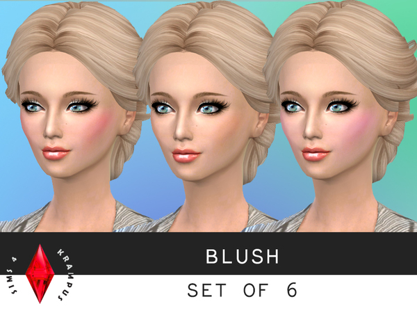 Blush Set of 6 by SIms4Krampus