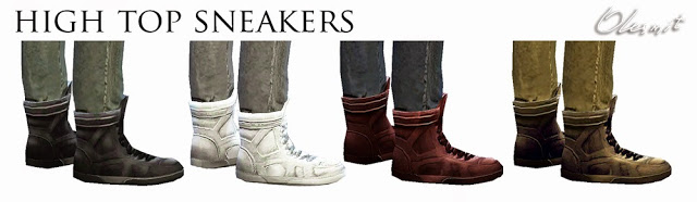 Sneakers for Males by Olesmit