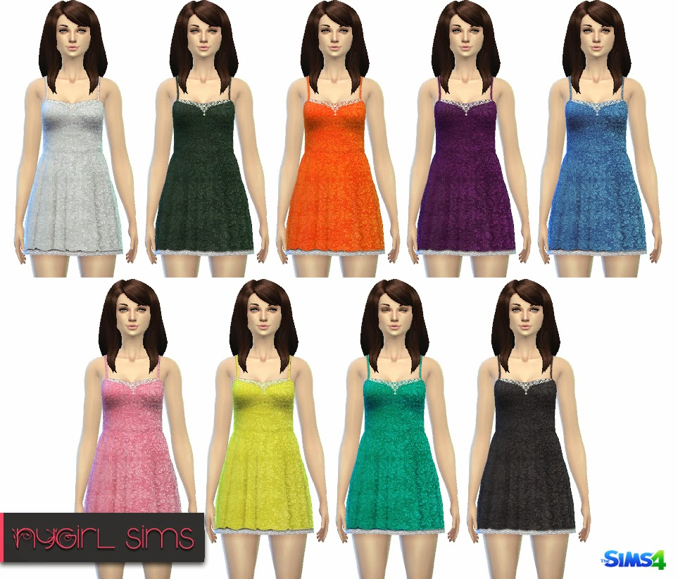 Layered Lace Sundress by NyGirl