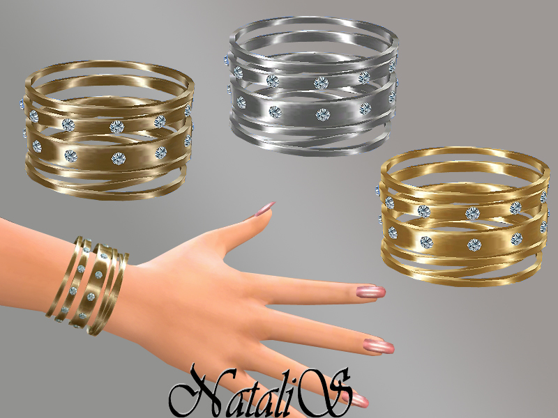 NataliS_Multi bracelets set FT-FE