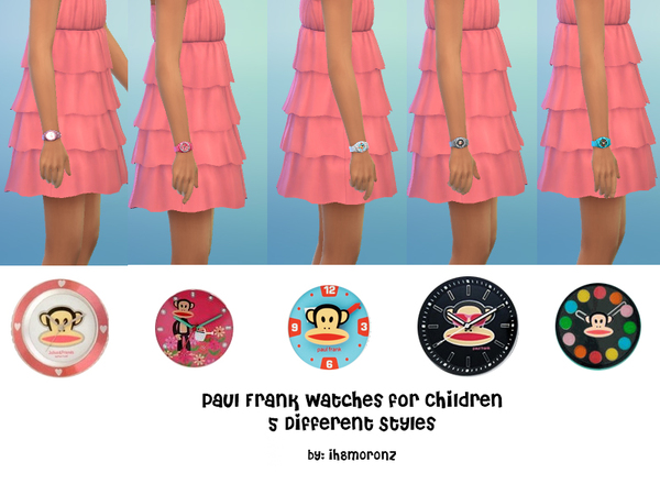 Paul Frank Watches for Children by ih8m0r0nz