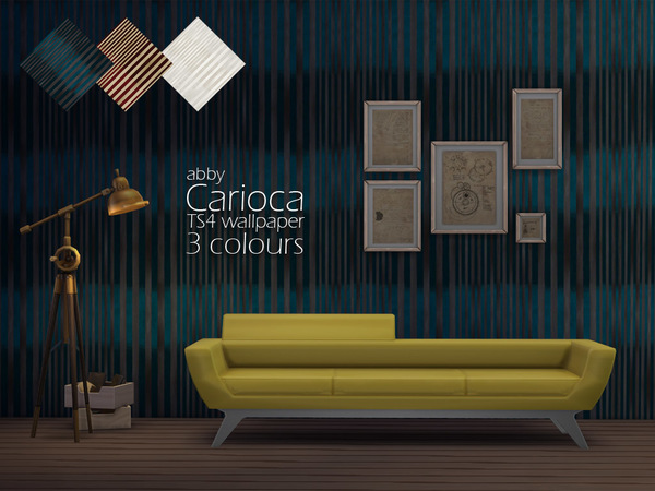 Carioca Wallpaper by Abby