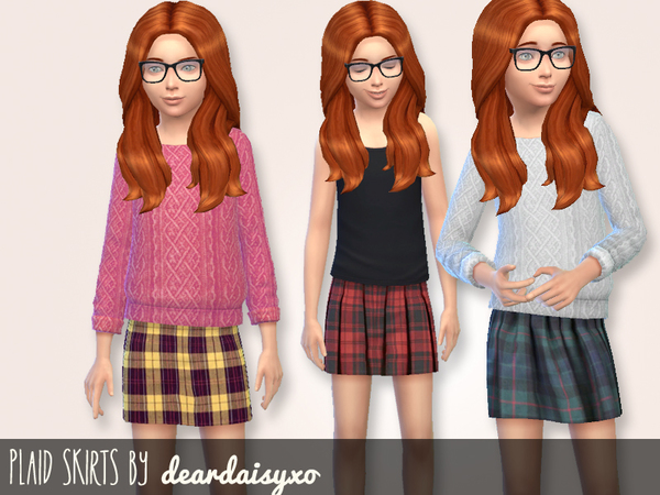 Plaid Skirts by deardaisyxo