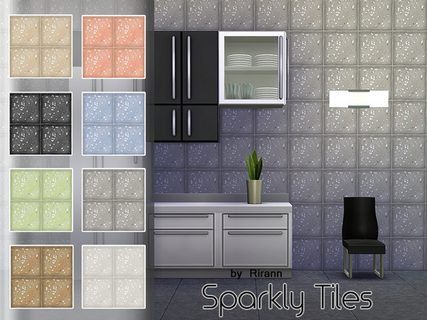 Sparkly Tiles by Rirann