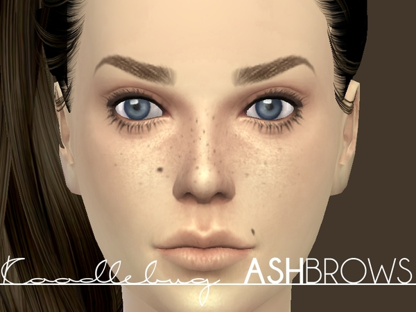 Ash Brows [Female] by koodlebug